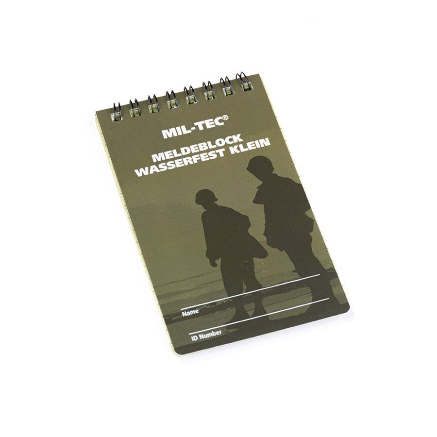 Block / SMALL waterproof notebook MIL-TEC® 15981001 L-11