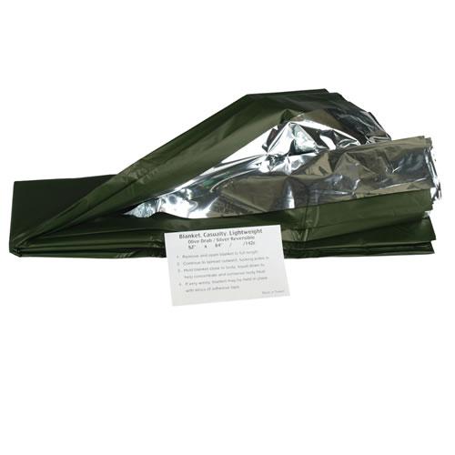 OLIVE protective foil AL / SILVER MIL-TEC® 16024500 L-11