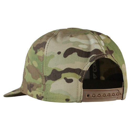 Flat Bill Snapback Hat with MULTICAM CONDOR OUTDOOR 161142-008 L-11