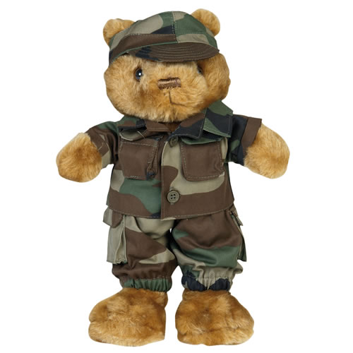 Toy TEDDY CLOTHES small - WOODLAND MIL-TEC® 16428020 L-11