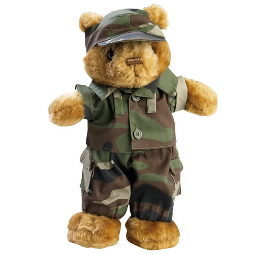 Toy TEDDY DRESSED small - CCE MIL-TEC® 16428024 L-11