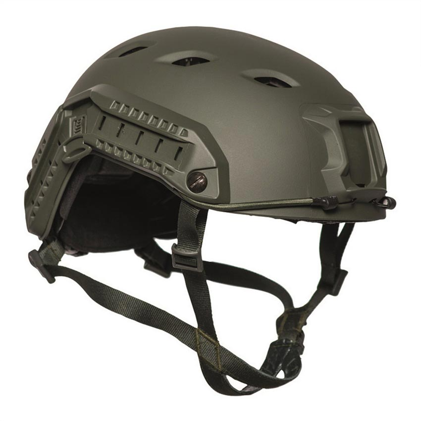 Plastic FAST PARATROOPER Helmet OLIV MIL-TEC® 16662501 -11