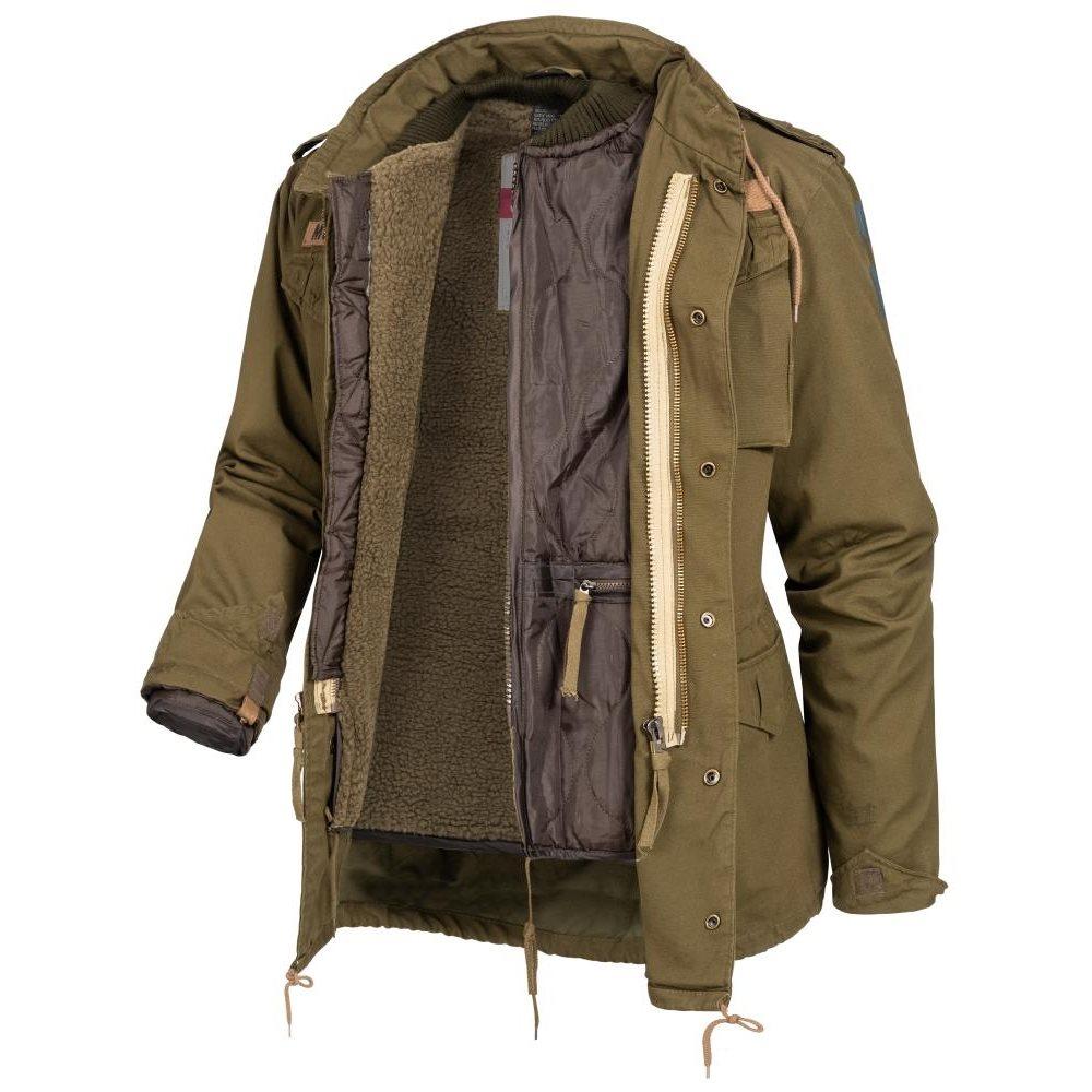 U.S. M65 Regiment Jacket with liner OLIVE SURPLUS 20-2501-61 L-11