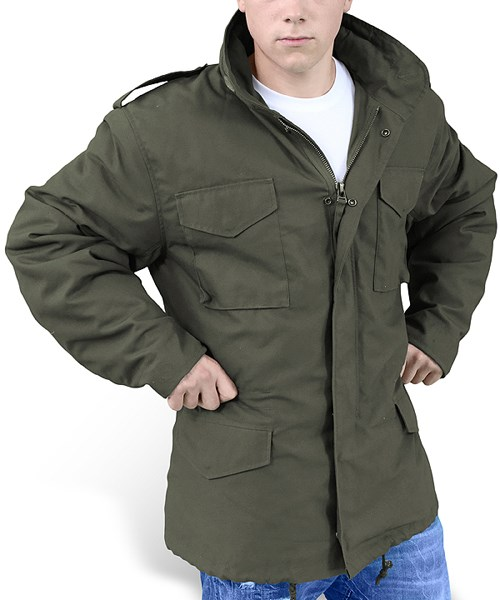 Jacket U.S. M65 OLIVE SURPLUS 20-3501-01 L-11