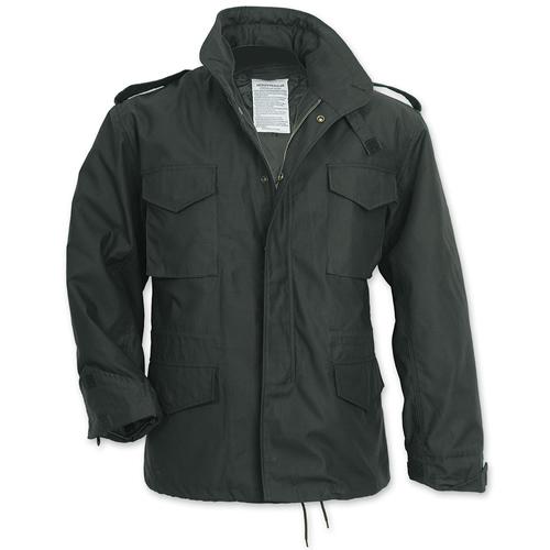 U.S. M65 Jacket BLACK SURPLUS 20-3501-03 L-11