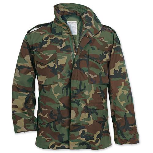 Jacket US M65 WOODLAND SURPLUS 20-3501-22 L-11