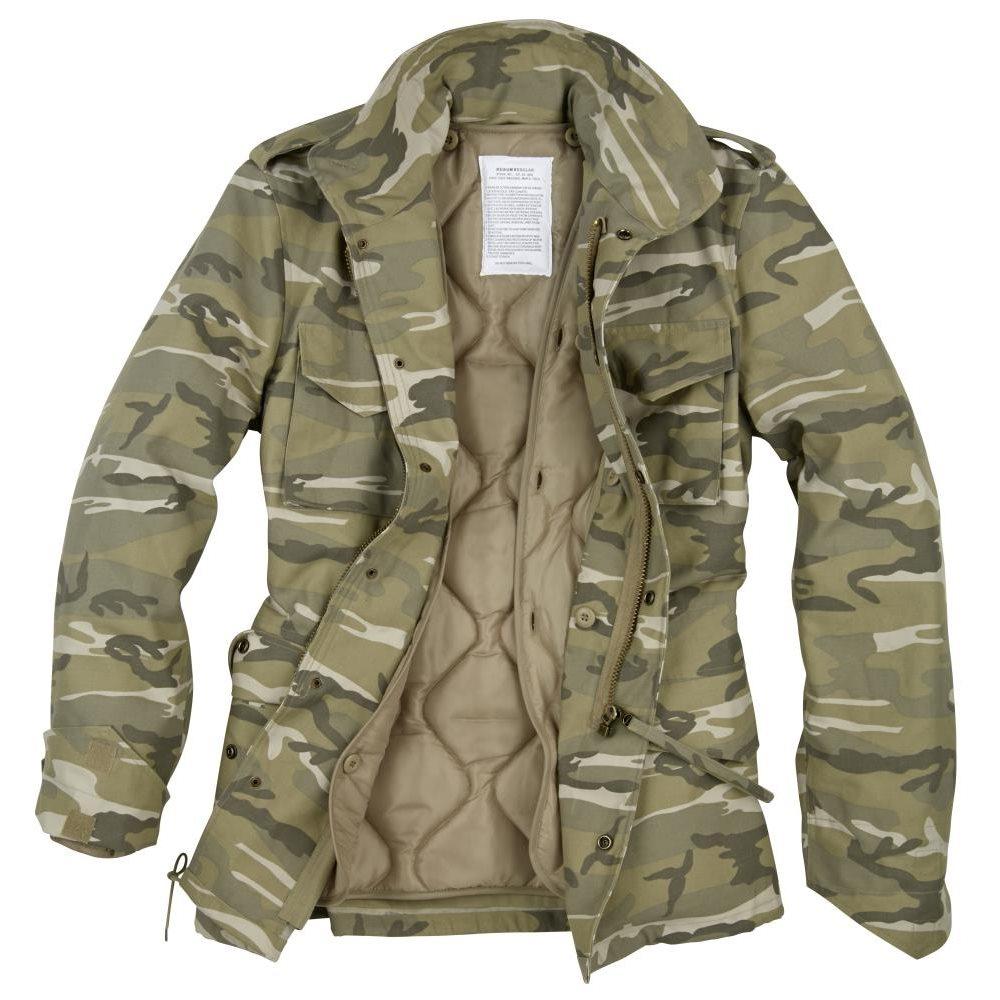 U.S. M65 Jacket DESERT LIGHT CAMO SURPLUS 20-3501-50 L-11