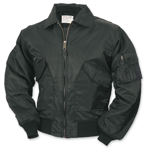 BOMBER CWU Jacket BLACK SURPLUS 20-3506-03 L-11