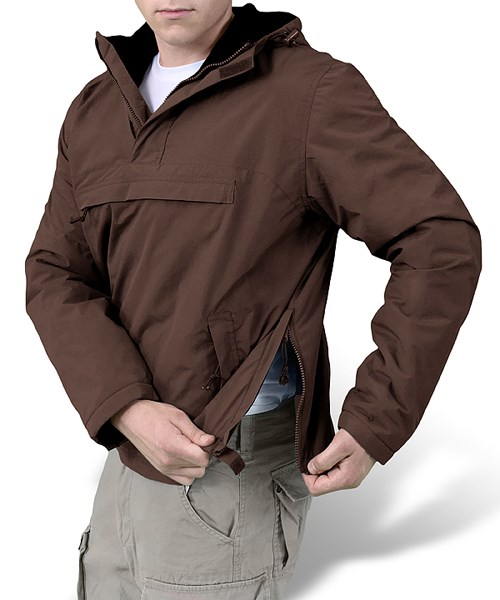 WINDBREAKER Jacket BROWN SURPLUS 20-7001-05 L-11