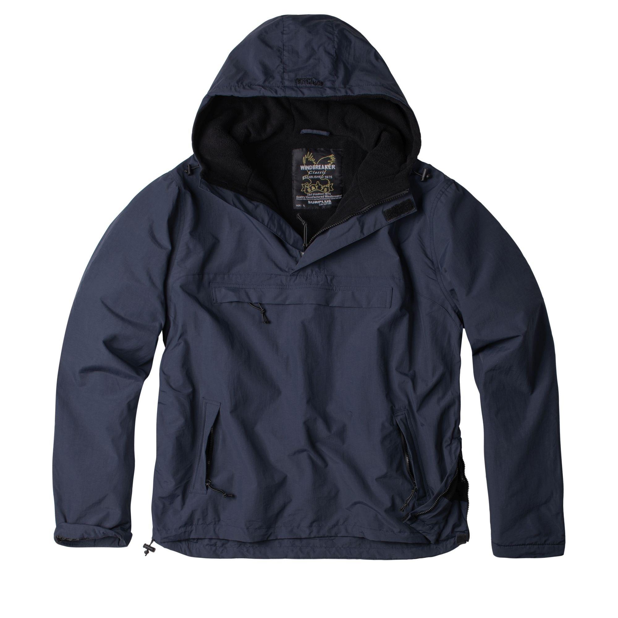 WINDBREAKER Jacket  BLUE NAVY SURPLUS 20-7001-10 L-11