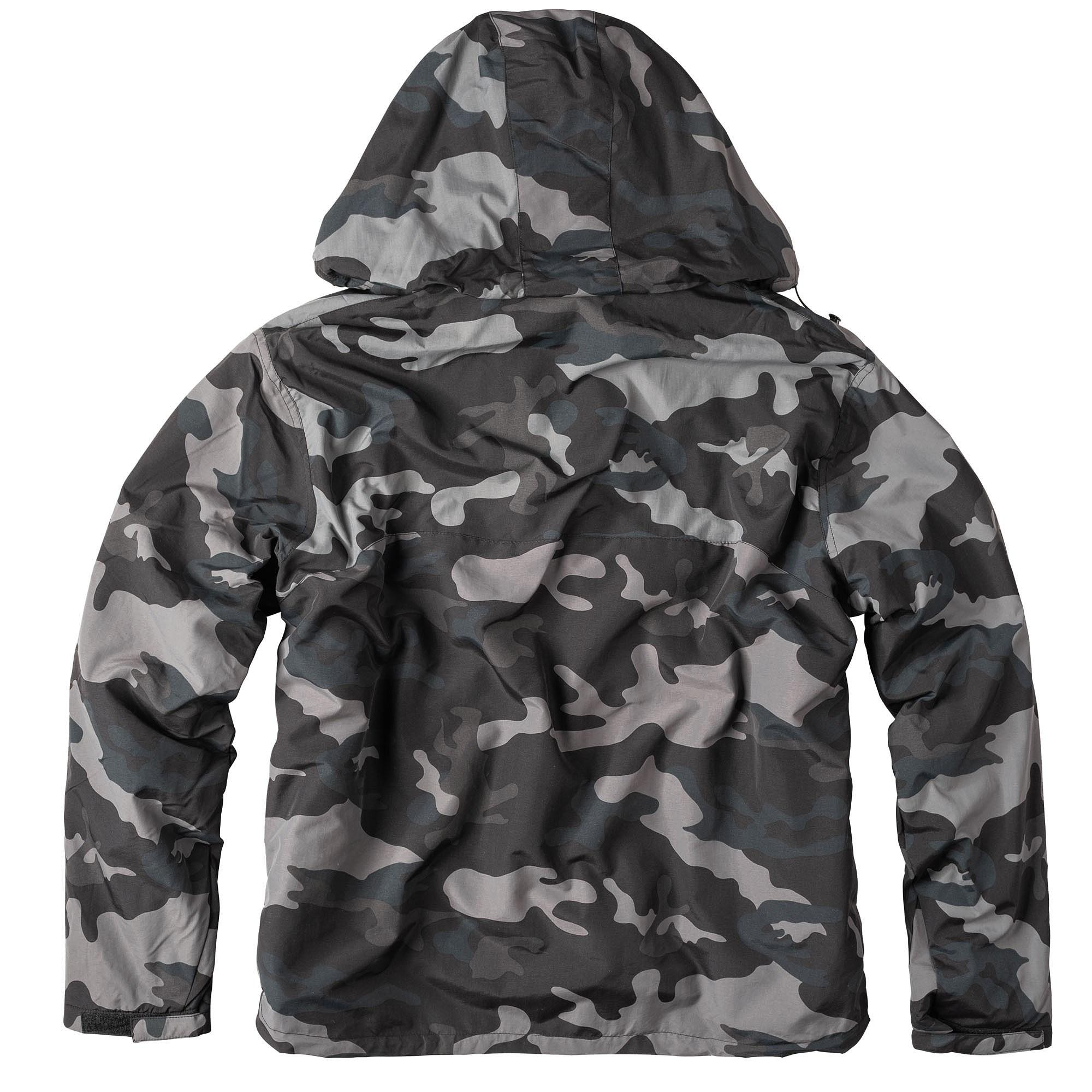WINDBREAKER Jacket BLACK CAMO SURPLUS 20-7001-42 L-11