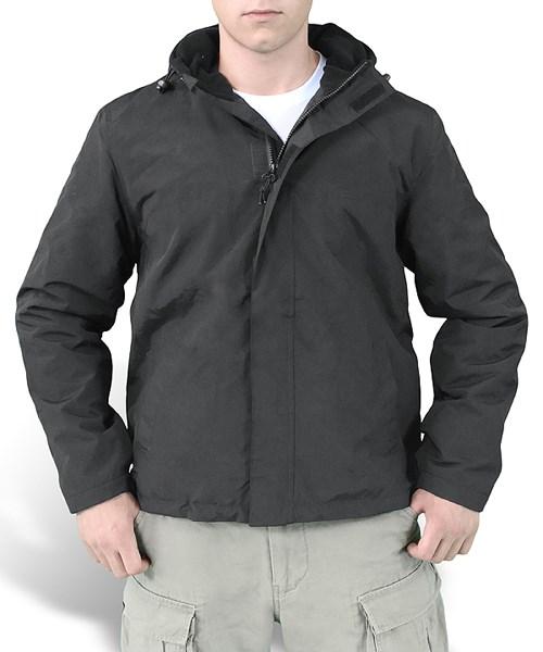WINDBREAKER ZIPPER Jacket BLACK SURPLUS 20-7002-03 L-11
