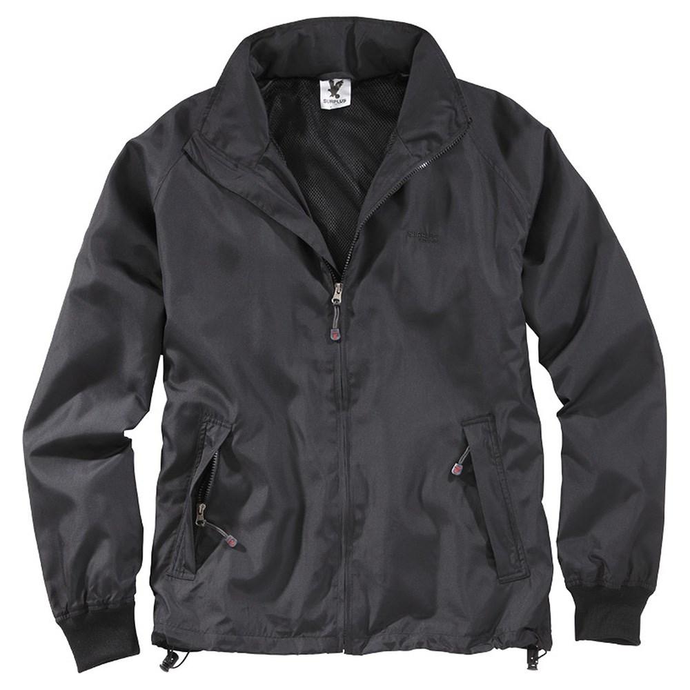 Jacket WINDBREAKER BASIC BLACK SURPLUS 20-7004-03 L-11