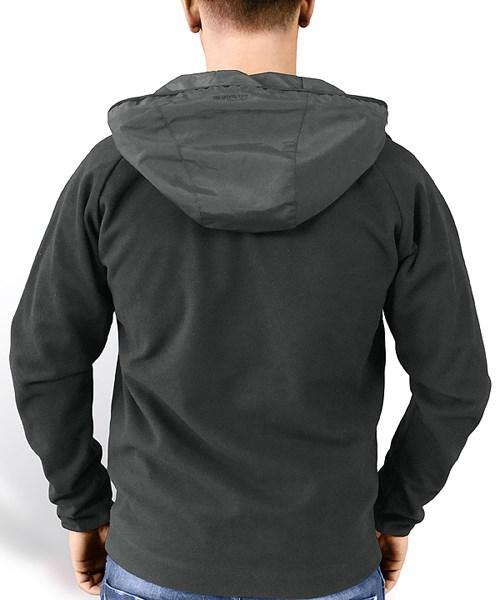 FLEECE Jacket BLACK SURPLUS 20-7010-03 L-11