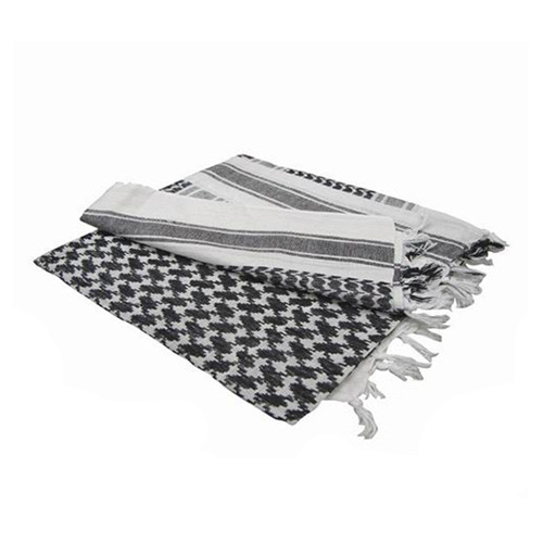 Scarf SHEMAG WHITE-BLACK CONDOR OUTDOOR 201-005 L-11