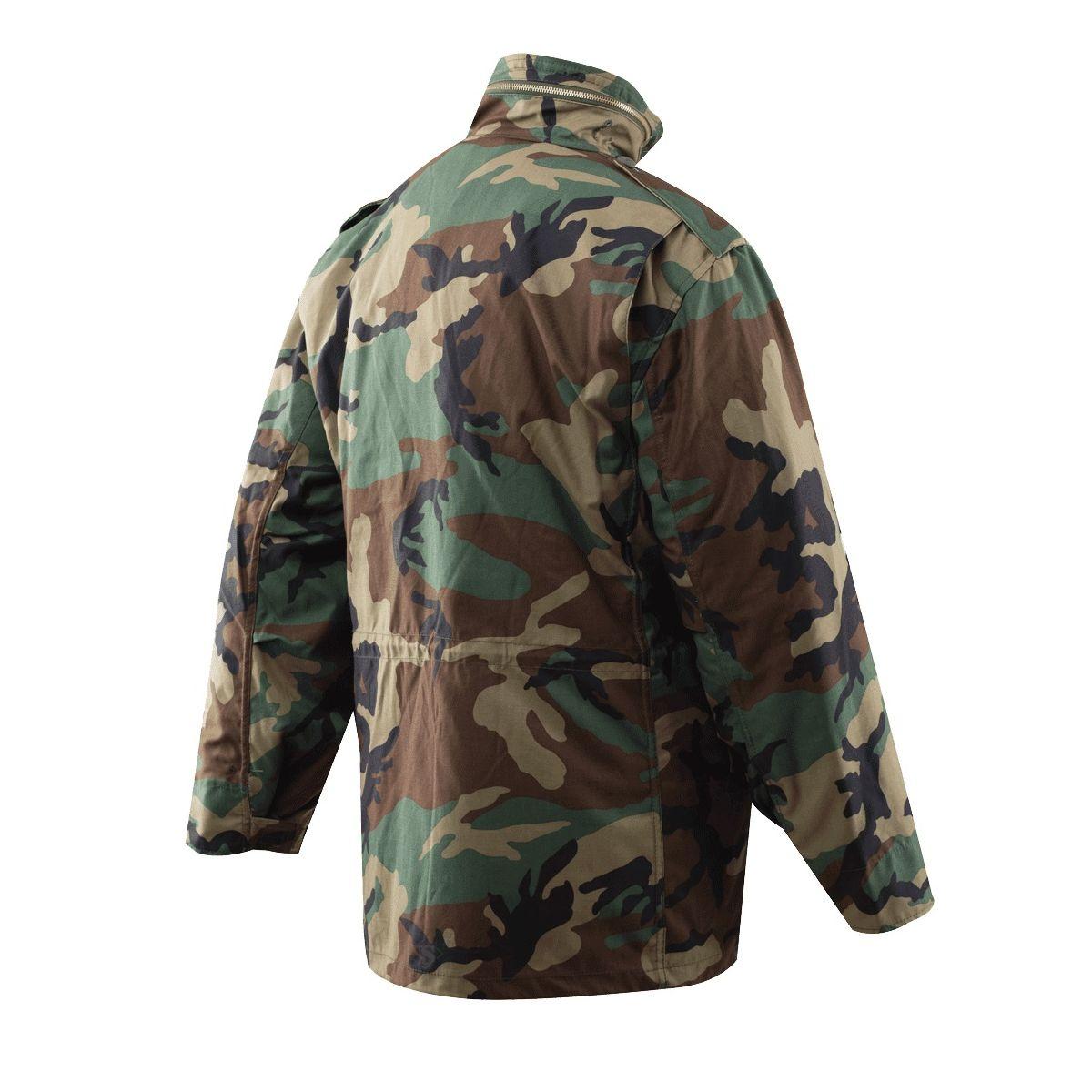 Jacket M65 with liner WOODLAND TRU-SPEC 24440 L-11