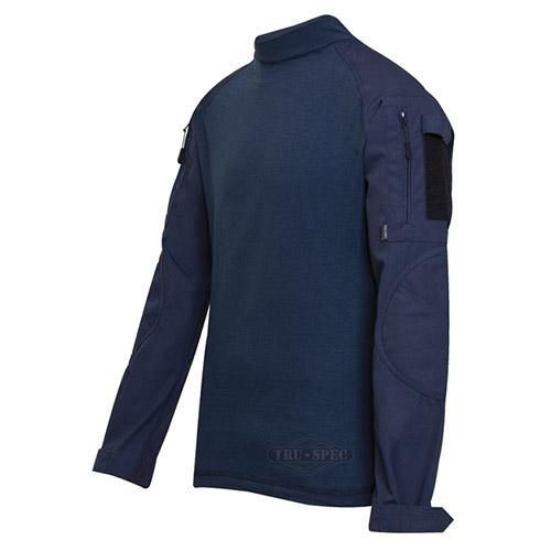Tactical Combat Shirt rip-stop BLUE TRU-SPEC 25550 L-11