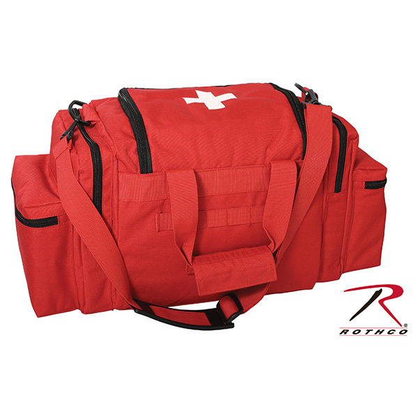 EMT medical bag RED ROTHCO 2659 L-11