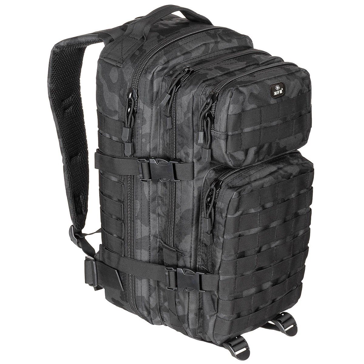 Even a small backpack ASSAULT CAMO NIGHT MFH int. comp. 30333K L-11