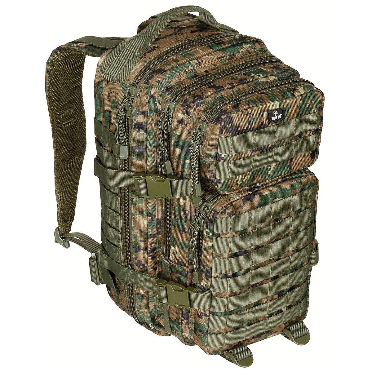ASSAULT small backpack I DIGITAL WOODLAND MFH int. comp. 30333S L-11