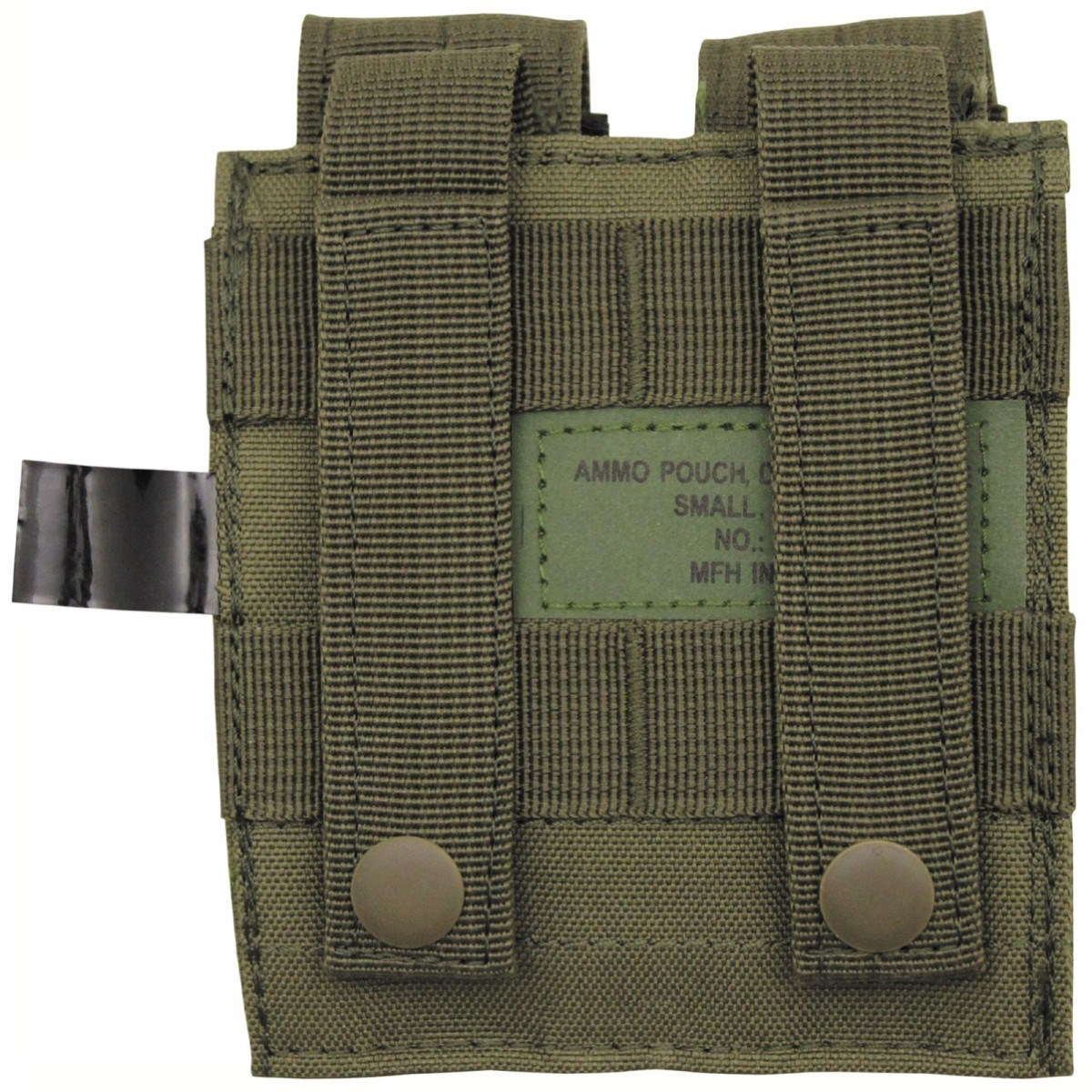 Pouch MOLLE Double the gun. stocks. OLIVE MFH int. comp. 30617B L-11