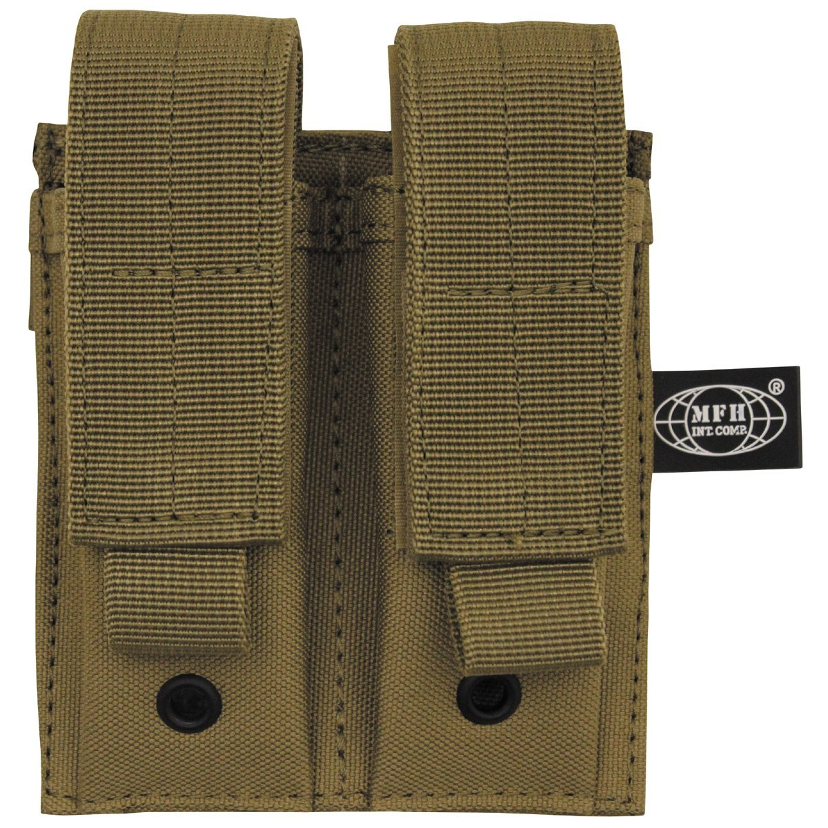 Pouch MOLLE Double the gun. stocks. COYOTE BROWN MFH int. comp. 30617R L-11