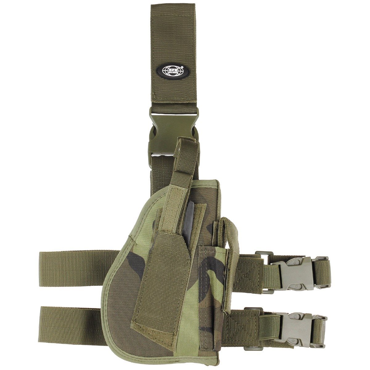 Thigh holster for CZ 95 rifle right MFH int. comp. 30725J L-11