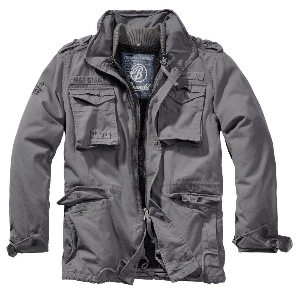 Jacket M65 GIANT CHARCOAL GREY BRANDIT 3101-213 L-11