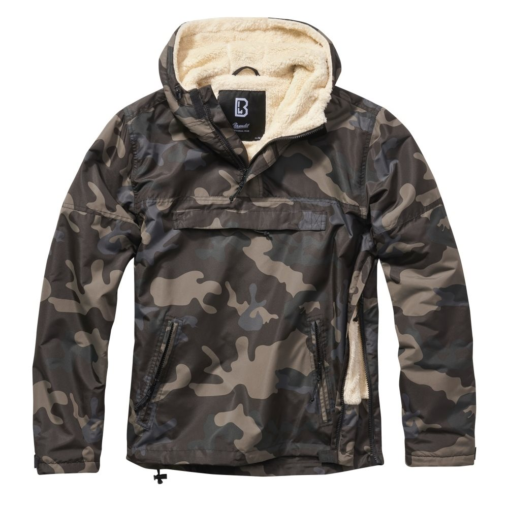 Jacket WINDBREAKER SHERPA DARK CAMO BRANDIT 3173-4 L-11