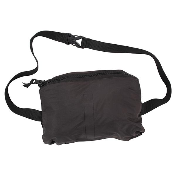 Lightweight waterproof jacket with hood BLACK ROTHCO 3754 L-11