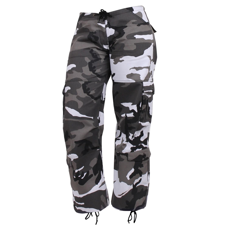 Pants Women´s PARATROOPER CITY METRO CAMO ROTHCO 3785 L-11