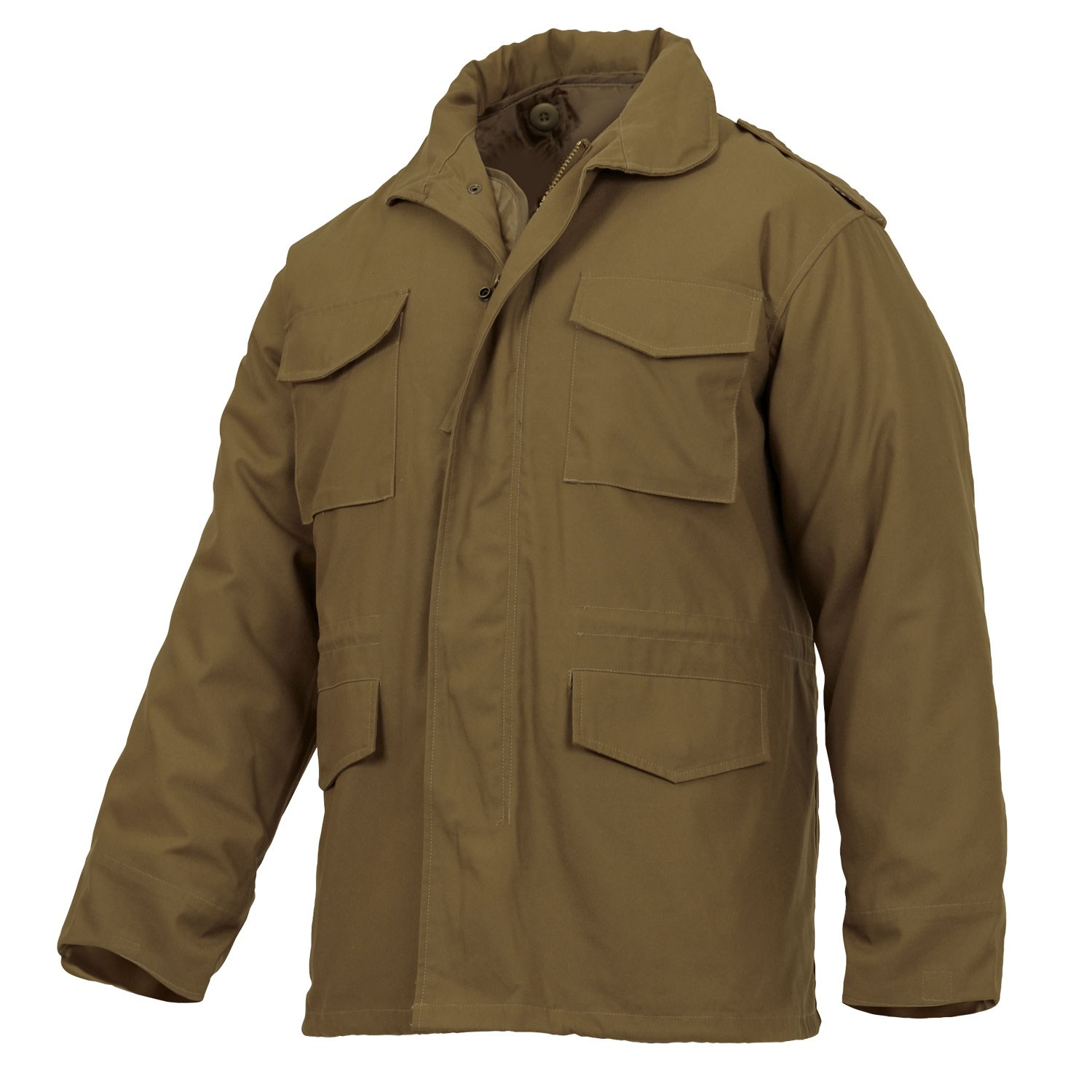 U.S. M65 jacket with liner COYOTE BROWN ROTHCO 3896 L-11