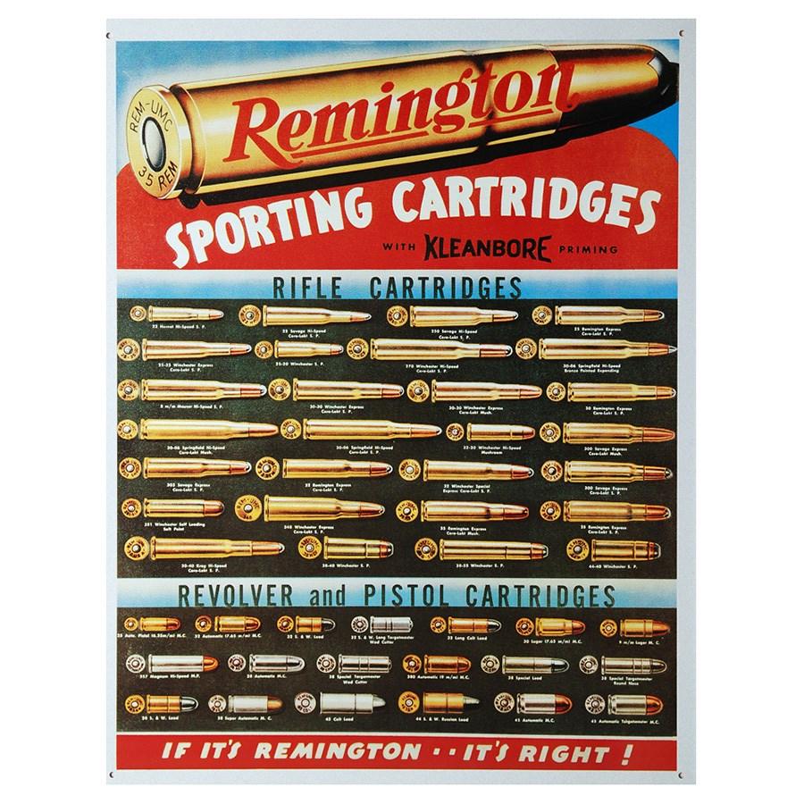 REMINGTON Tin Signs  1001-415151-2430 L-11