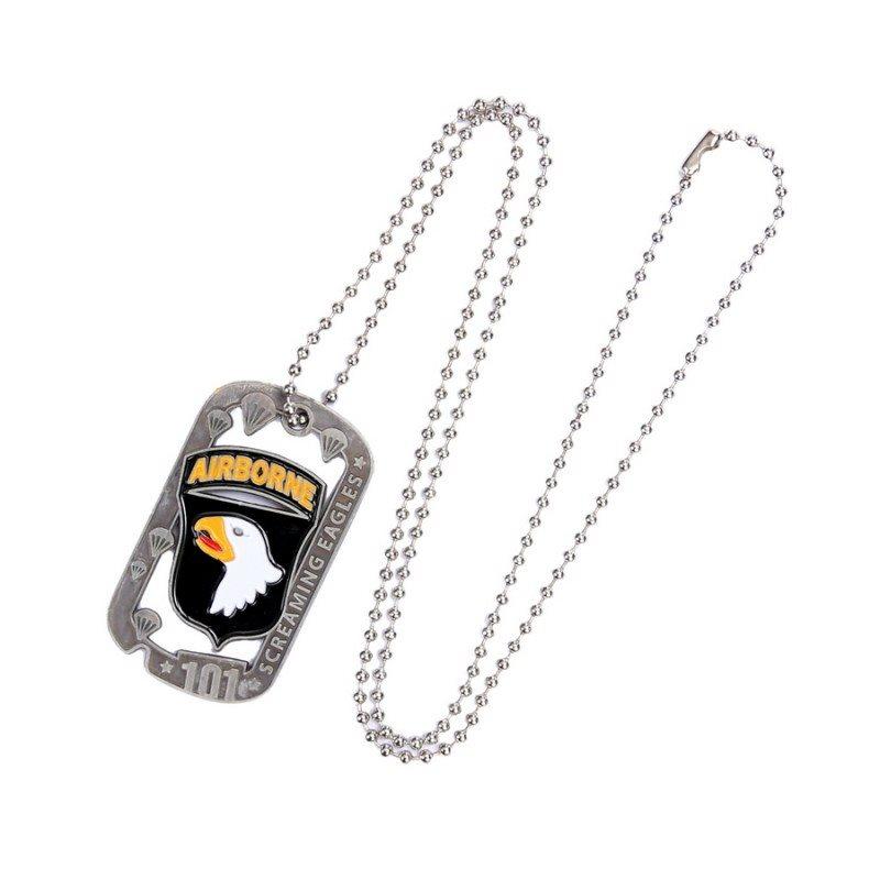 Necklace DOG TAG 101st AIRBORNE FOSTEX 461202 L-11