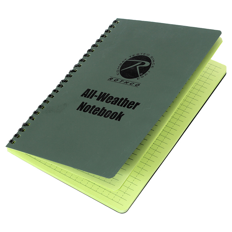 All Weather Waterproof Notebook ROTHCO 463 L-11