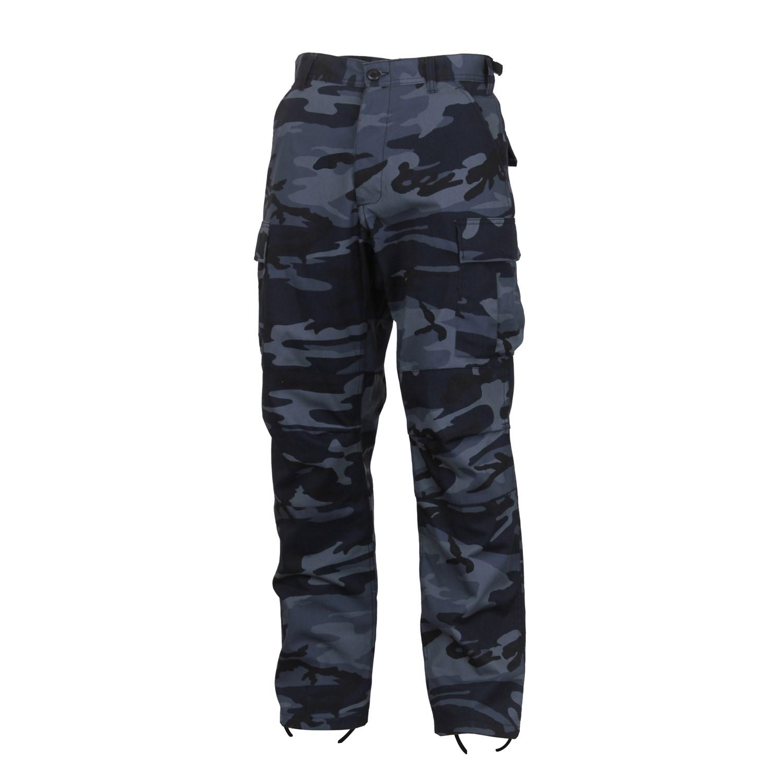 Pants tactical BDU MIDNIGHT BLUE CAMO ROTHCO 4712 L-11
