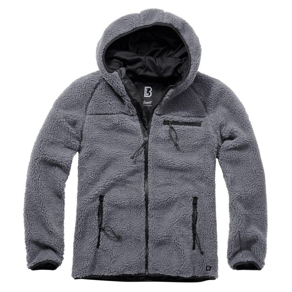 Teddyfleece Worker Jacket ANTHRACITE BRANDIT 5024-5 L-11