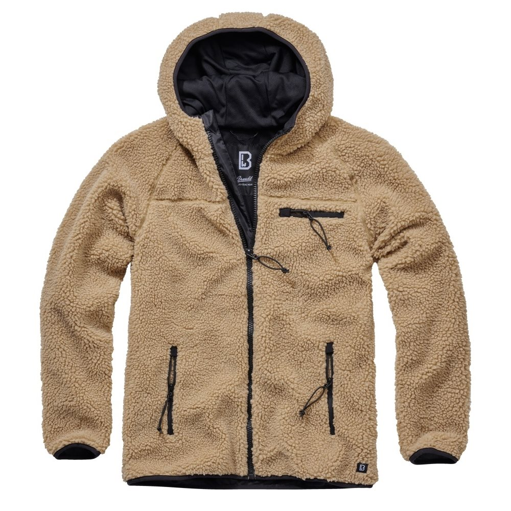 Teddyfleece Worker Jacket KHAKI BRANDIT 5024-70 L-11