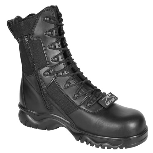 Shoes FORCED ENTRY DEPLOYMENT 8'' BLACK ROTHCO 5063 L-11