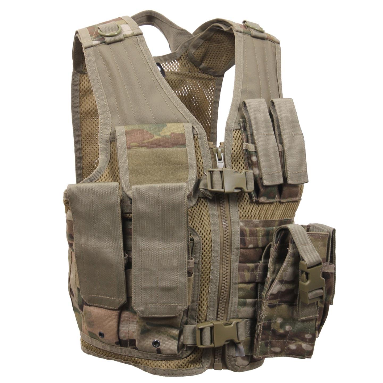 Children tactical vest MULTICAM ROTHCO 5384 L-11