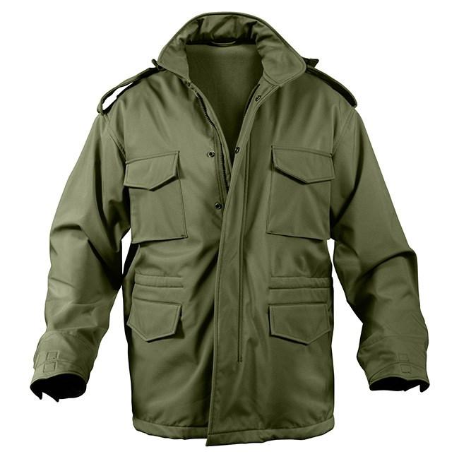 Jacket U.S. M65 SOFT SHELL OLIV DRAB ROTHCO 5744 L-11