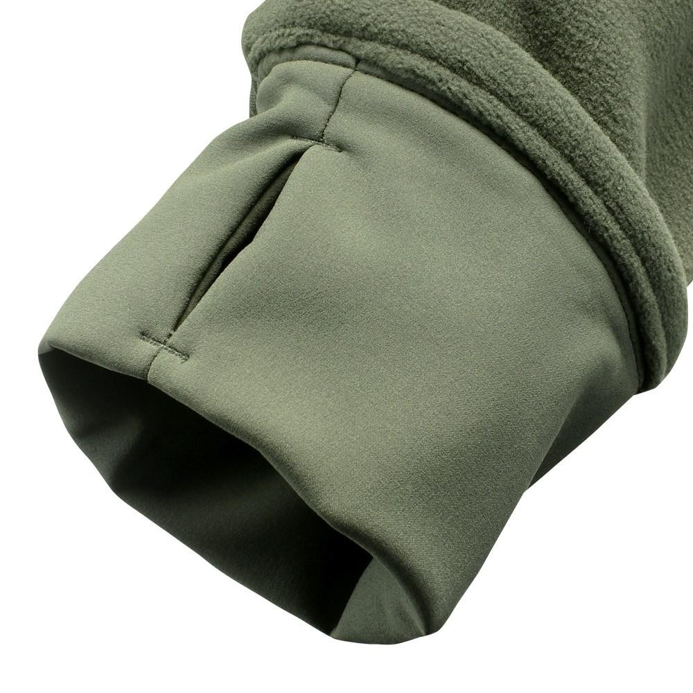 MICRO FLEECE Jacket OLIVE CONDOR OUTDOOR 601-001 L-11