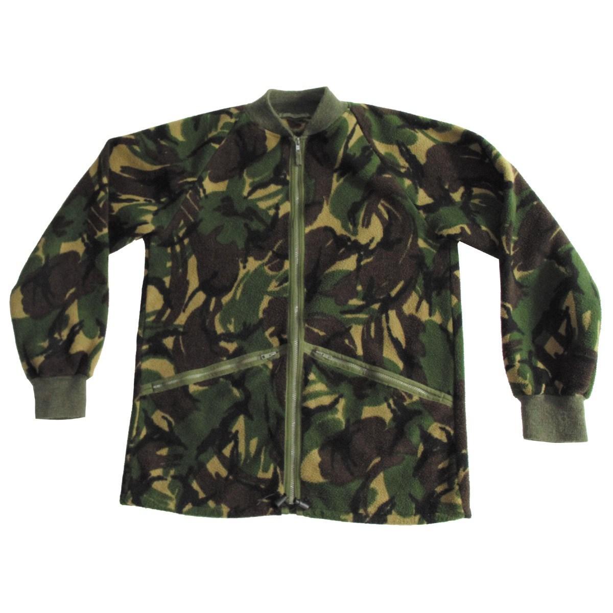 British DPM fleece jacket used British Army 91085600 L-11