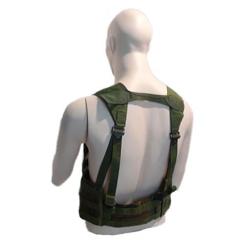 U.S. tactical vest MOLLE II FLC WOODLAND US Army 604806 L-11