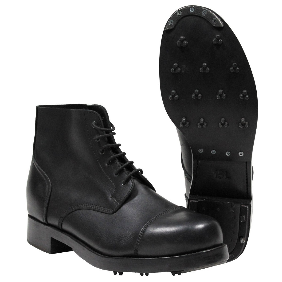 Used BRITISH Leather Boots PARADE British Army 618586 L-11