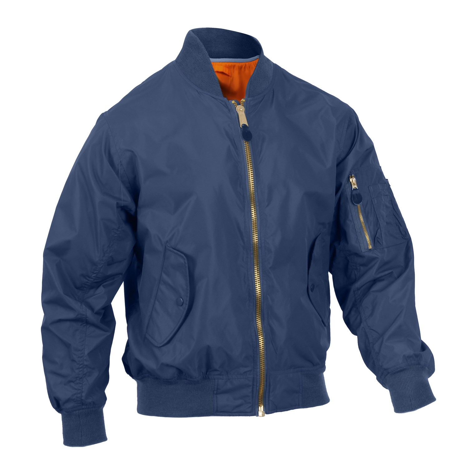 Jacket MA1 FLIGHT NAVY BLUE ROTHCO 6330 L-11
