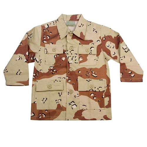 Children Shirt U.S. BDU type 6-COL DESERT ROTHCO 6925 L-11