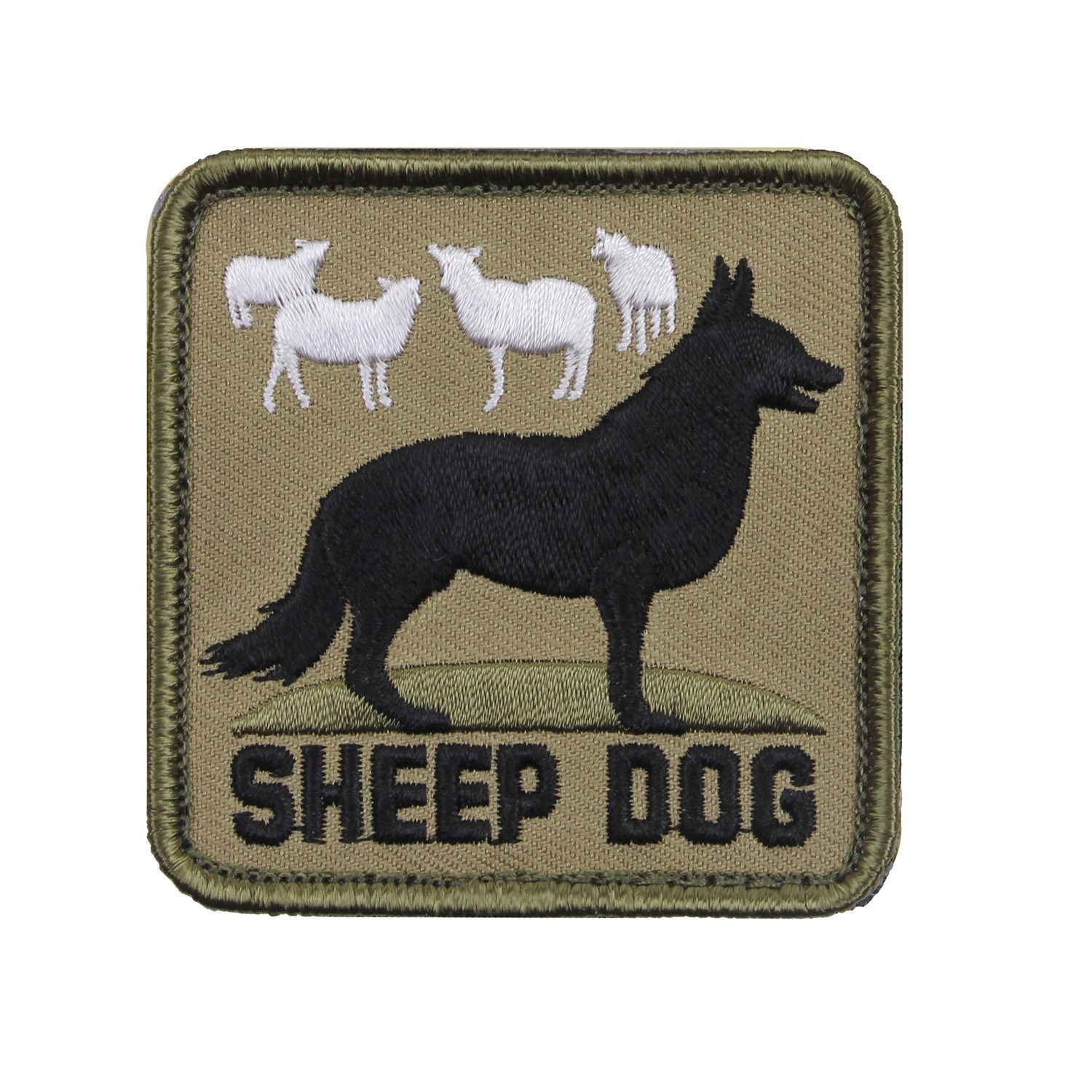 Velcro patch SHEEP DOG ROTHCO 72206 L-11