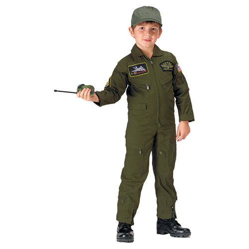 Overall infant U.S. TOP GUN FLIGHT OLIVE ROTHCO 7302 L-11