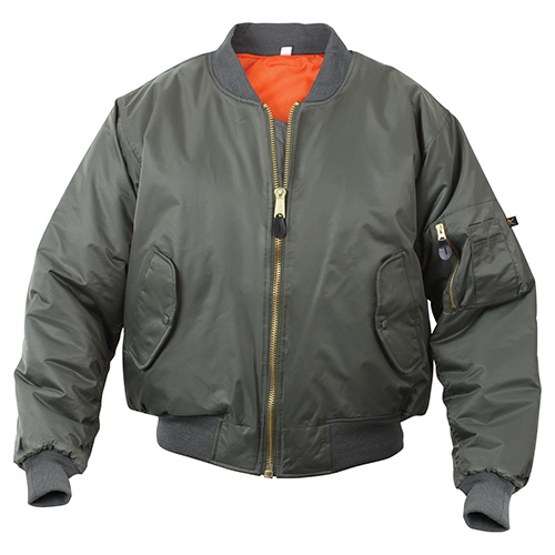 Jacket ULTRA FORCE MA1 FLIGHT SAGE ROTHCO 7323 L-11